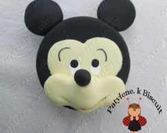 latinha decorada mickey de biscuit total