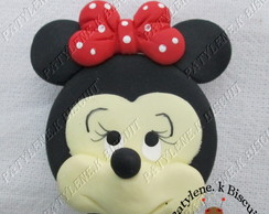 Latinha Decorada Minnie De Biscuit Total