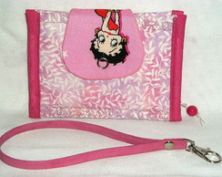 Mini Carteira BETTY BOOP ROSA I