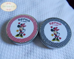 Kit De 50 Latinhas Minnie