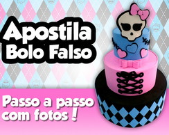 Apostila bolo falso Monster High