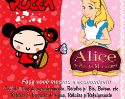 Kit Festa Pucca ou Alice