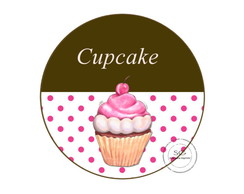 Etiqueta Latinha Mint To Be Cupcake