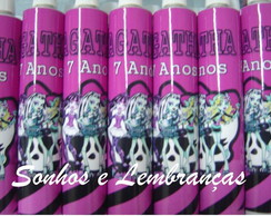 Bisnaga  Personalizada Monster High