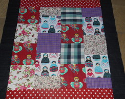 Tapete Infantil Patchwork Matrioska