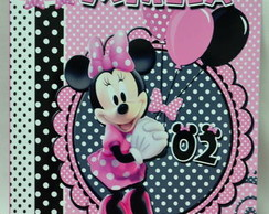 Revistinha Kit Colorir Minnie rosa