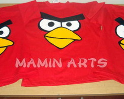 Camisetas Angry Birds Adulto