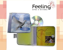 Porta CD / DVD com gel