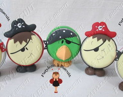 Mini Baleiro  Piratas De Biscuit Kit2