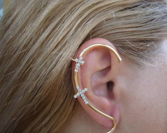EAR CUFF CRUCIFIXO