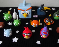 Angry Birds Space em biscuit