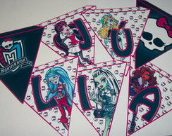 Bandeirolas Monster High