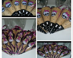 Cones de chocolate Monster High
