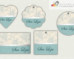 Kit Tags - Etiquetas Com Design Mod79