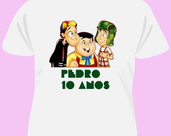 Camiseta Turma Do Chaves