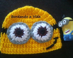 Touca Crochê Minion Meu Malvado Favorito