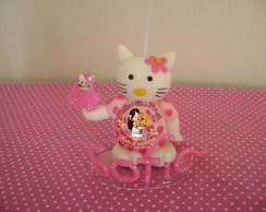 Vela Personalizada Hello Kitty