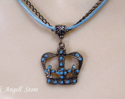 Colar Blue Crown