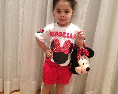 Camiseta + Tiara Minnie