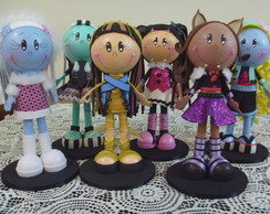 Monster High - Kit com 6 personagens