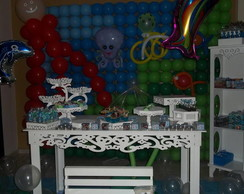 Festa fundo do mar