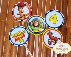 Topper Para Doces - Toy Story