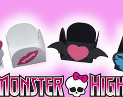 25 Forminha Monster High Para doces