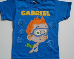 Camiseta Nony dos Bubbes  Guppies