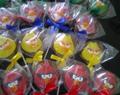 Pirulitos De Chocolate Angry birds