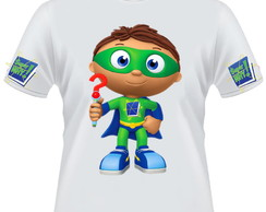 Camiseta Super why
