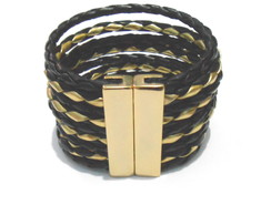 Pulseira Maxi Golden & Black