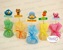 Trouxinha de Chocolate Pocoyo