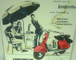 "Placa Retro ""Lambreta"""