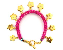 Pulseira Gypsy Flores - do