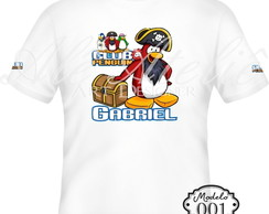 Camiseta Club Penguin Personalizada