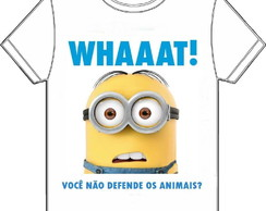CAMISETA MINION - COMUNIQUE CRIATIVO