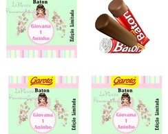 Rotulo Chocolate Baton Anjinho