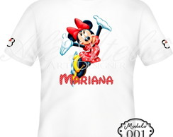 Camiseta Minnie Mouse Personalizada