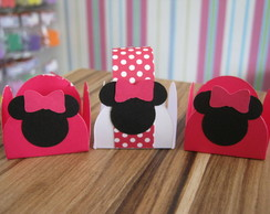 Forminha Decorada para Doce Minnie