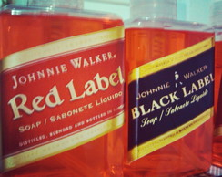 Sabonete Líquido Red e Black Label