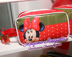 Minnie e Mickey necessaire estojo
