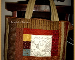 Bolsa Country de Patchwork