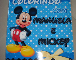 Revista Colorir Mickey 14x10