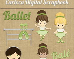 Cliparts#010 Ballet Green CUse
