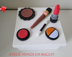 Caixa MDF  Decorada com Biscuit
