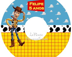 Etiqueta Para Cd Do Toy Story