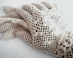 Vintage Flower Gloves