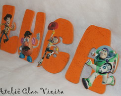 Letras decoradas Toy Story