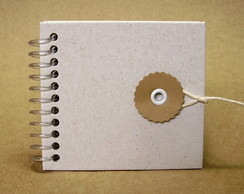 Kit Mini Caderno Reciclato