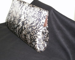 Clutch Animal Print Cobra